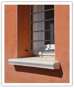 Appuis de fenêtre Accordance - blanc - en pierre reconstituée 3