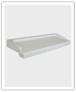 Appuis de fenêtre Accordance - blanc - en pierre reconstituée