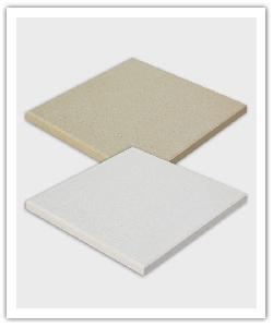 Baldosa Deco - beige y blanco - in piedra artificial