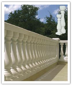 Balaustrada San Sebasti�n 73 - blanco - in piedra artificial