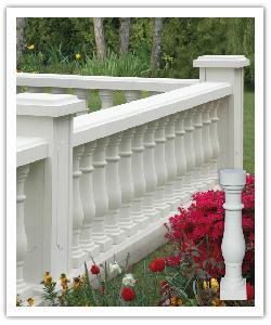 Balaustrada San Sevilla 61 - blanco - in piedra artificial
