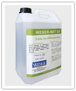 Bidon de 5 litres de Produit de Nettoyage Weser-Net EF