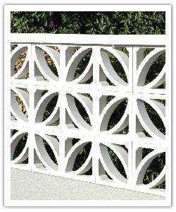 Celosìas relieve Pétalo - blanco caliza - in piedra artificial