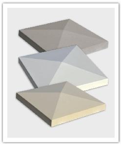 Chapeaux Pointe de diamant Tradition Aspect Lisse Weser - Gris, Blanc Tradition, Crème