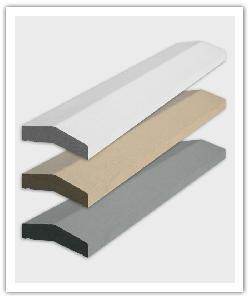 Muurdekstenen 2 hellingen 1m - gebroken wit, zandkleur, grijs- Namaak Natuursteen