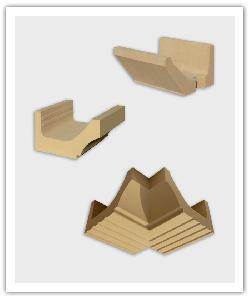 Kroonlijst Prima en CC - zandkleur - in Namaak Natuursteen