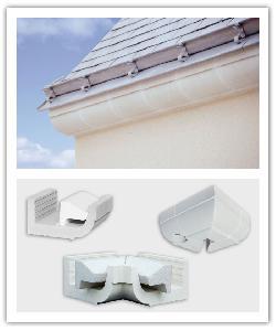 Corniches, angles extérieur et intérieut CG(avec polystyrène) ou CR - blanc cassé - en pierre reconstituée