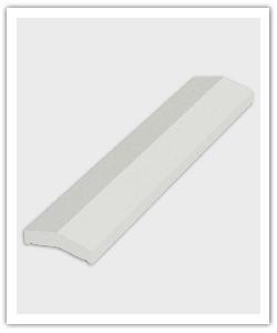 Cubremuros 1 m - blanco - in piedra artificial