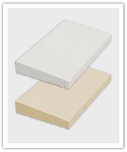 Cubremuros Una Vertiente - blanc y beige - in piedra artificial