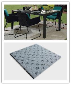 Tegels Urban, met effect relièf metaal - grijs beton - Namaak Natuursteen