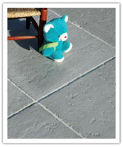 Bergerac patio paving - grey - in reconstructed stone
