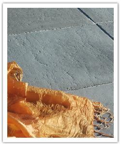 Dalles Bergerac - gris - en pierre reconstituée