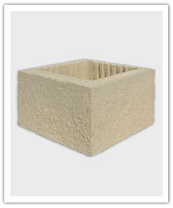 élément de pilier Référence - ton pierre - en pierre reconstituée
