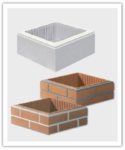 éléments de pilier brique et pierre - PUL 39, PR JP 39, PR JPB 39
