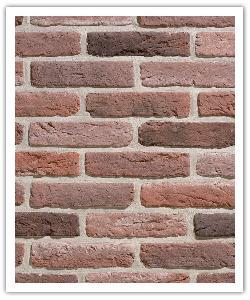 Interbrick Tradiciòn IBT 34 - Rojo - in piedra artificial2