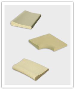 Zwembadboordsteen element Aquitaine - Steen uit Lot - Namaak Natuursteen