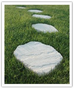 Pasos japoneses Florac - champàn - in piedra artificial