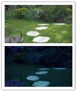 Pasos japoneses Florac Estructurado Lumineo - champàn - in piedra artificial