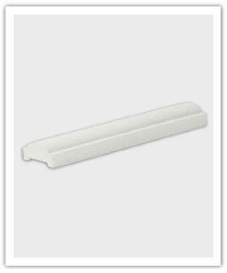 Pasamanos  - blanco caliza - in piedra artificial