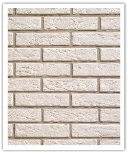 Plaquetas Interbrick IB11 - Blanco - in piedra artificial