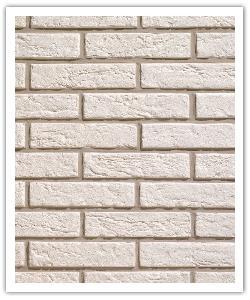 Plaquetas Interbrick IB11 - Blanco - in piedra artificial