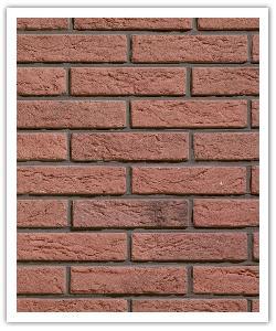 Plaquetas Interbrick IB13 - Rojo - in piedra artificial