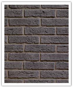 Plaquetas Interbrick IB18 - Gris Oscuro - in piedra artificial