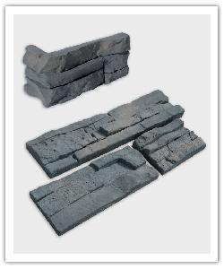 Plaquetas y esquinas pietrastone Cambria - gris matizado - in piedra artificial