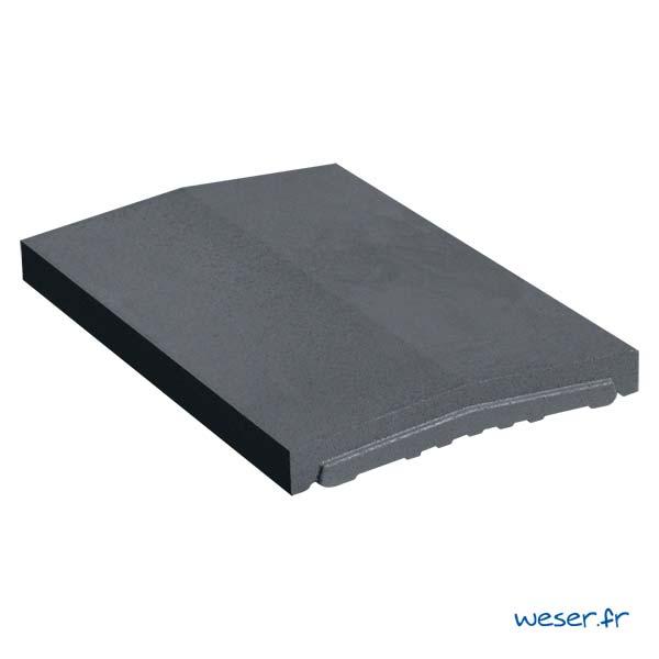Chaperon OPTIPOSE® 2 pentes Weser - largeur 33 cm- coloris Dark