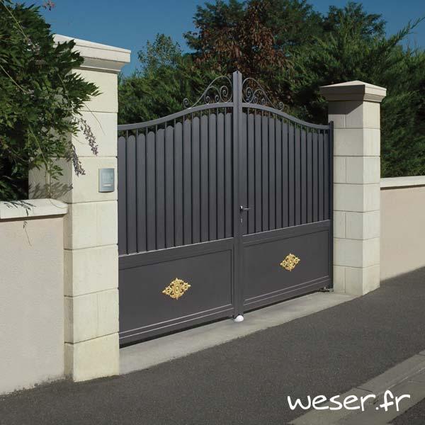 Aménager votre clôture - Piliers/Poteaux, chaperon/couvre-mur, murets...