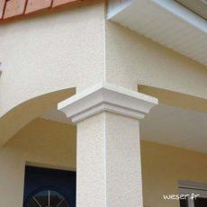 Chapiteaux pour pilier et poteau