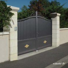 Piliers - Poteaux de clôture et portail