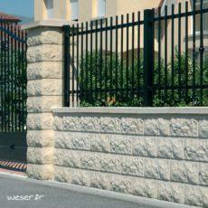 Murets de clôture