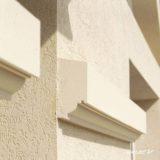 Bandeau à agrafer pour façade Weser - en pierre reconstituée compressée - Coloris Ton pierre