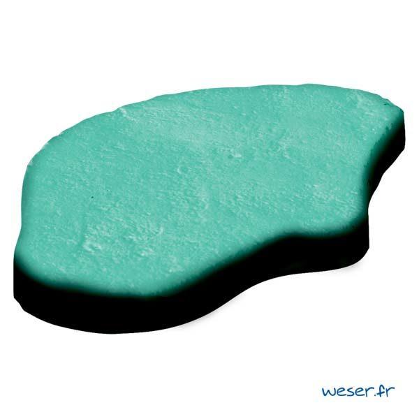 Pas Japonais Chinon Lumineo de nuit Weser - pierre reconstituée - Crème