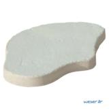 Pas Japonais Chinon Lumineo de jour Weser - pierre reconstituée - Crème