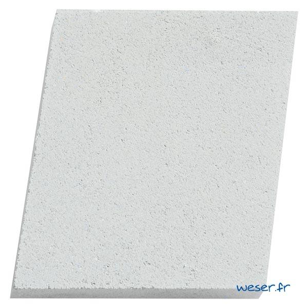 Élément de parement d'ouverture de porte et fenêtre P2 Weser - en pierre reconstituée compactée - Coloris Blanc Cassé