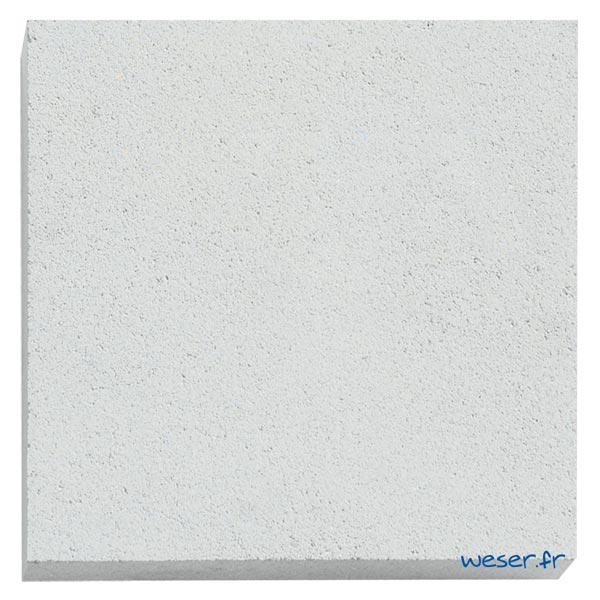 Élément de parement d'ouverture de porte et fenêtre P6 Weser - en pierre reconstituée compactée - Coloris Blanc Cassé