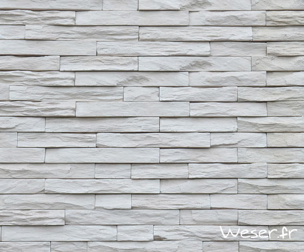 Parement mural, Murok Stato blanc crème - WESER