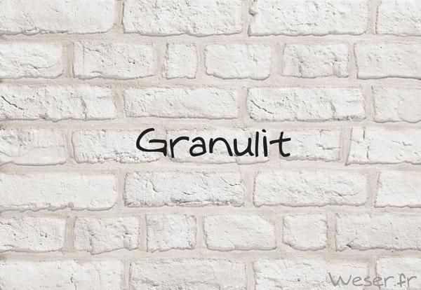 Prament Granulit blanc De Ryck By WESER