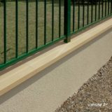 Couvre-mur OPTIPOSE® PLAT - longueur 0,5 mètre, largeur 28 cm - Ton pierre - Weser