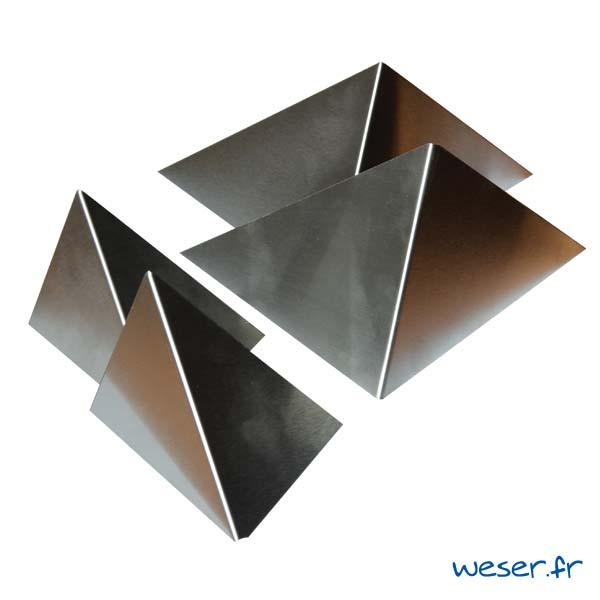 Insert pour poteau de clôture Prisme Weser - Inox