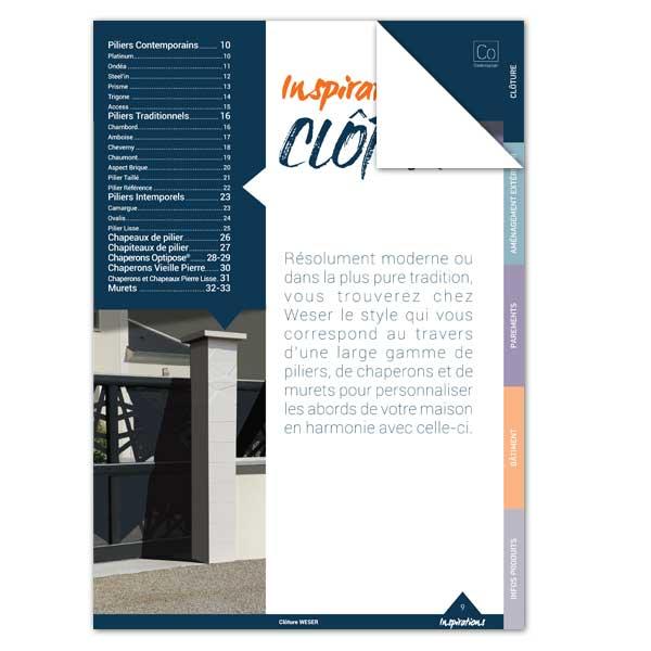 Catalogue Inspiration de la Clôture - Weser