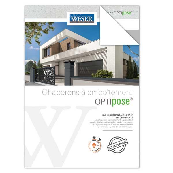 Téléchargez la Documentation concernant les Chaperons - Couvre-murs OPTIPOSE® WESER