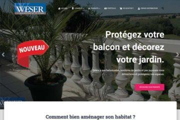 Nouveau Site Internet Weser 2020