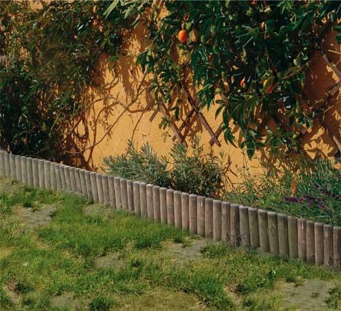 Mes bordures de jardin et ma terrasse avant la rénovation