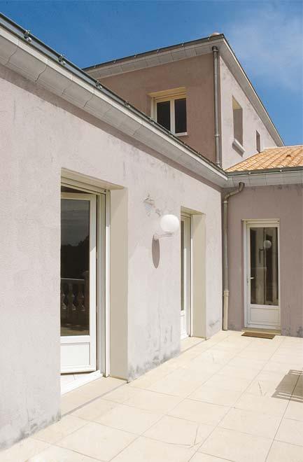 Ma façade de maison avant sa rénovation