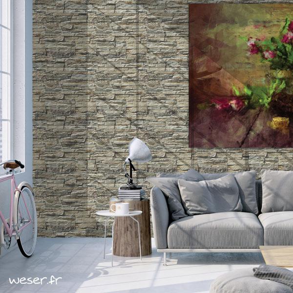 Plaquettes de parement muraux De Ryck By Weser MUROK ARKANSAS Beige nuancé DRPKGM61
