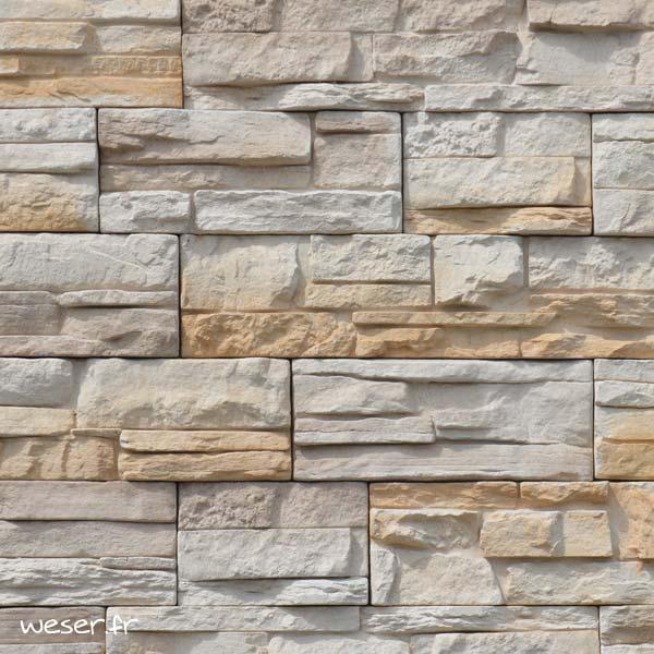 Plaquettes de parement muraux De Ryck By Weser MUROK ATLAS Beige Nuancé DRPKGATL52