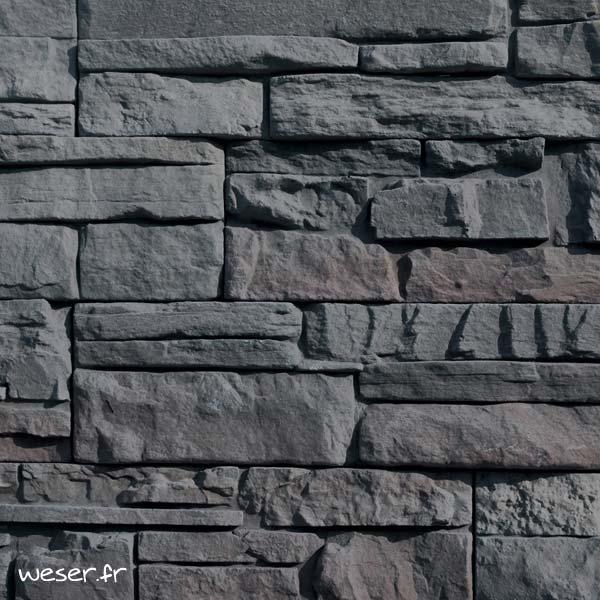 Plaquettes de parement muraux De Ryck By Weser MUROK ATLAS Gris Nuancé DRPKGATL54
